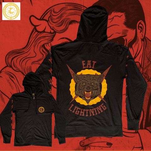 Eat Lightning Clothing Shirts S Wolves Like Us Zip Up Hoodie