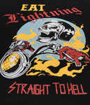 Eat Lightning Clothing Shirts Straight To Hell Long Sleeve T-Shirt