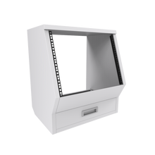 Floor rack cabinet White for Enterprise and Commander Series