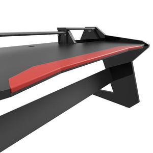Commander V2 Desk with Keyboard pullout option Black