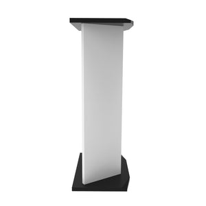 V Tower - Speaker Stand White