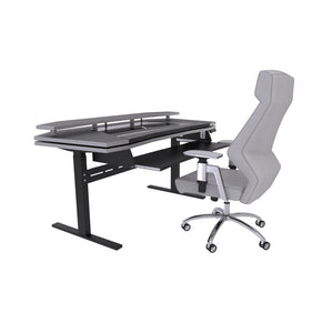 Xtreme Producer Standing workstation Bundle and Ergo 2.0 Chair Grey Bundle