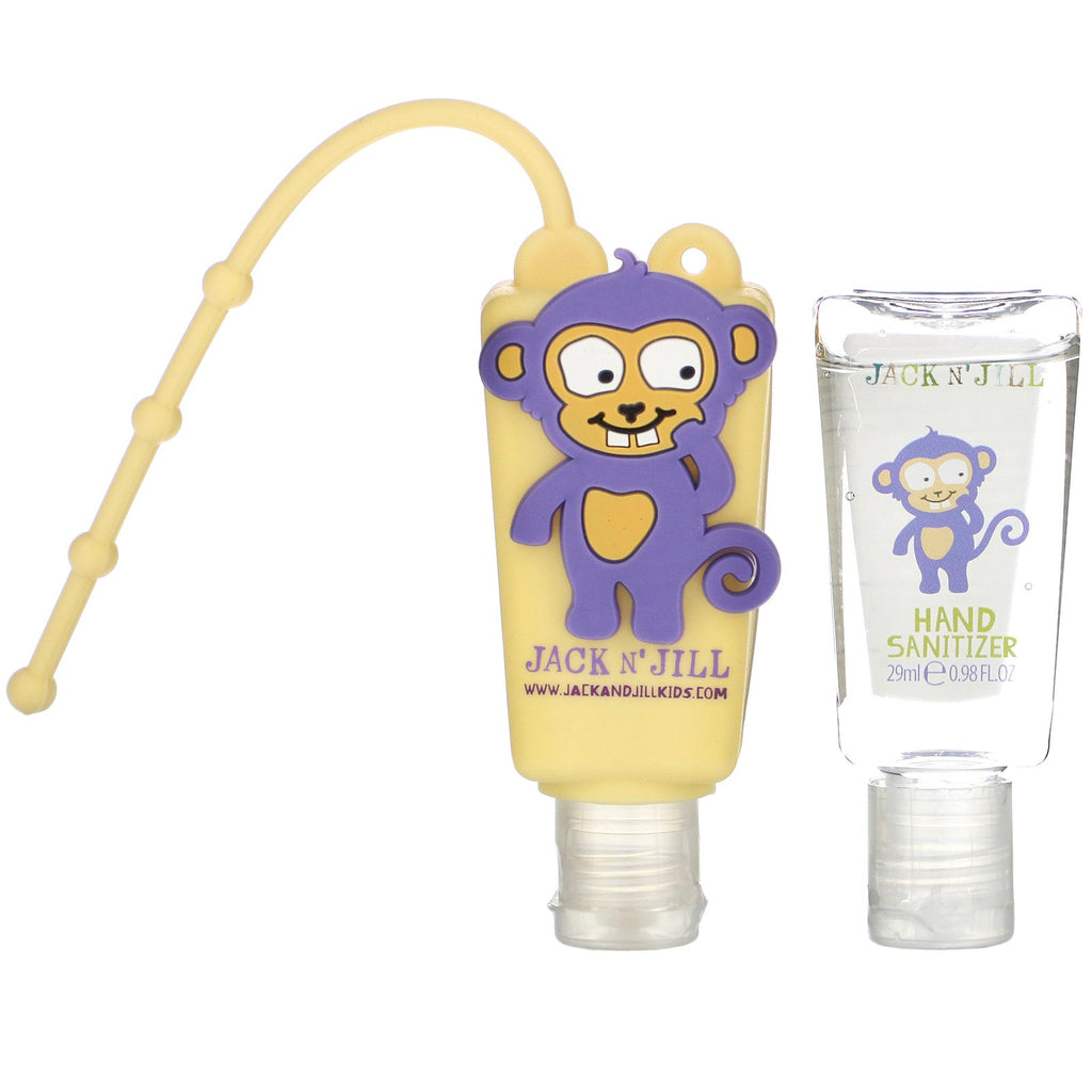Jack n Jill Hand sanitizer Anti Bac Hand Gel - Monkey