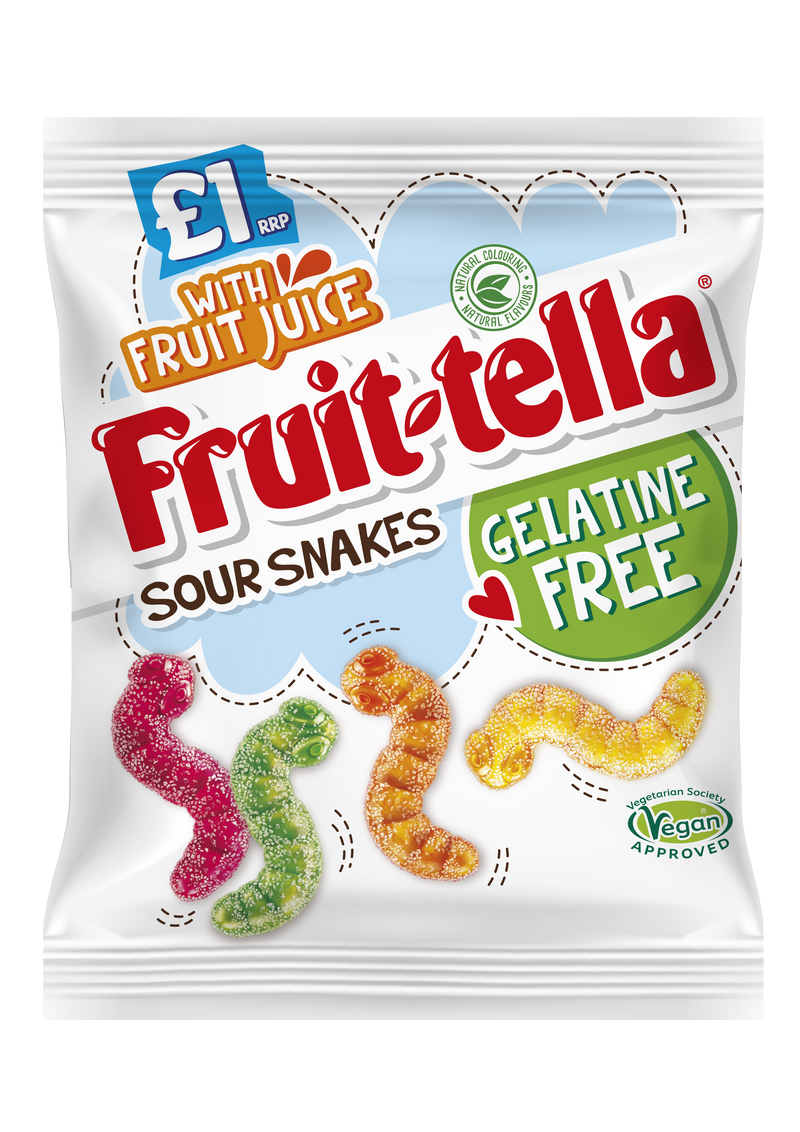 Fruit-tella Jelly Sour Snakes