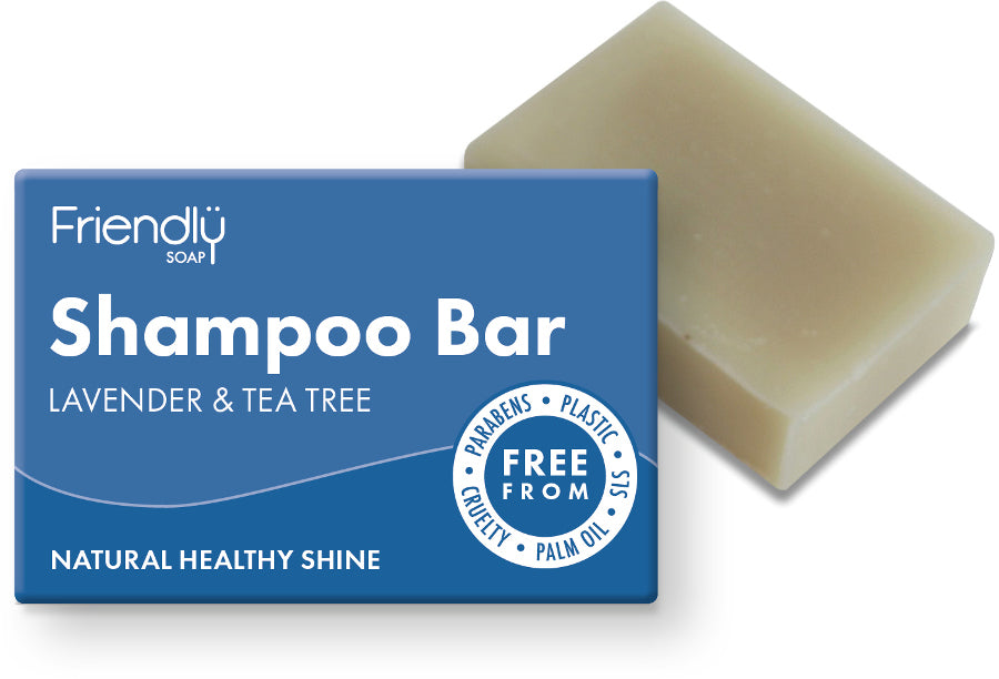 Friendly Natural Shampoo Bar Lavender & Tea Tree