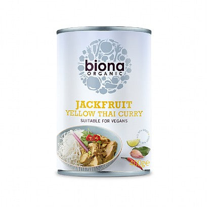 Biona Organic Yellow Thai Curry Jackfruit