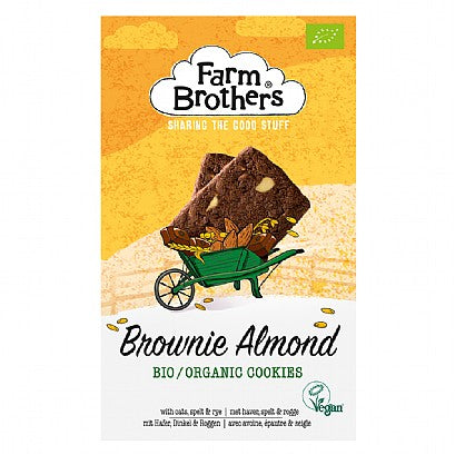 Farm Brothers Organic Brownie Almond Cookies