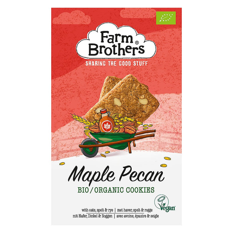 Farm Brothers Organic Maple Pecan Cookies