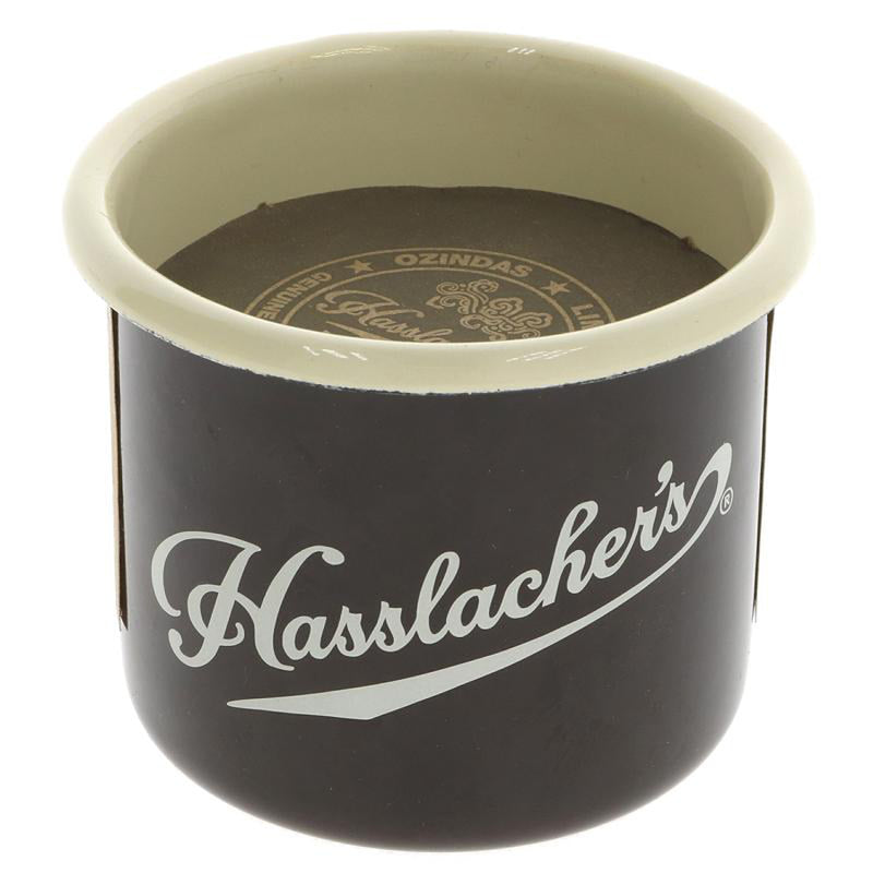 Hasslacher's Enamel Mug with Gourmet Columbian Hot Chocolate