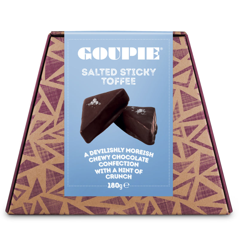 Goupie Salted Sticky Toffee 180g