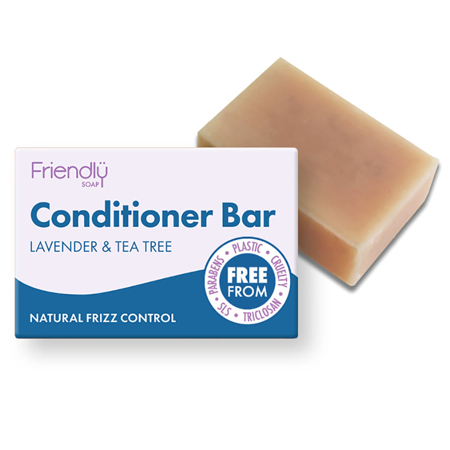 Friendly Natural Conditioner Bar Lavender & Tea Tree