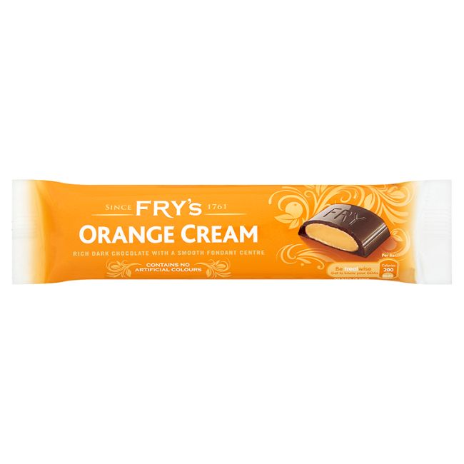 Fry's Orange Cream - 3 bars per pack