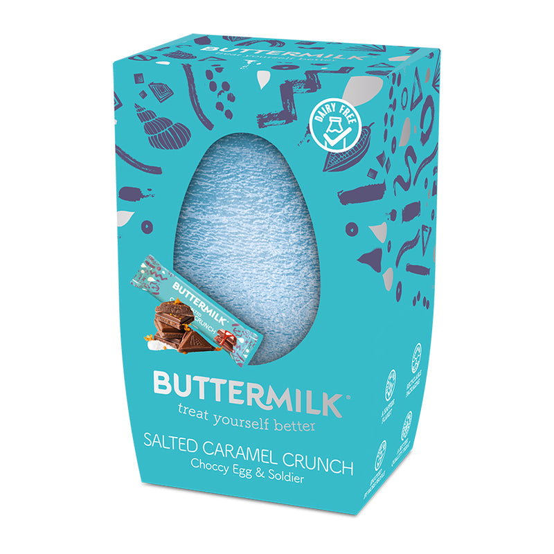 Buttermilk Easter Egg Caramel Sea Salt 224g