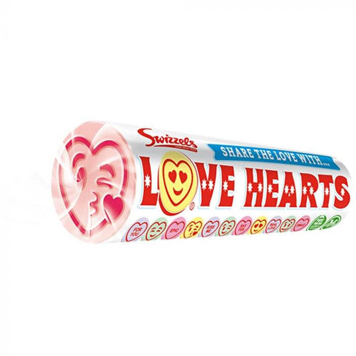 Swizzels Love Hearts Giant Roll 39g