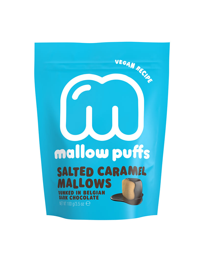 Mallow Puffs Duo Pack - Salted Caramel & Vanilla Bean Mallows