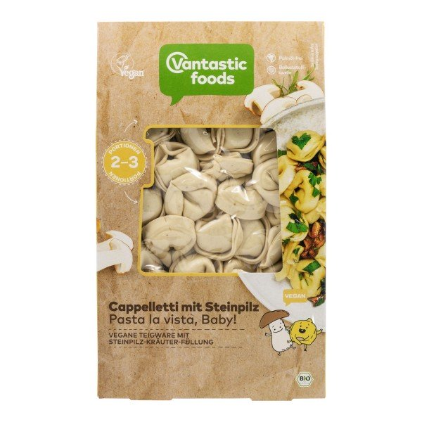 Vantastic Foods Cappelletti Pasta with Porcini Mushroom & Herbs