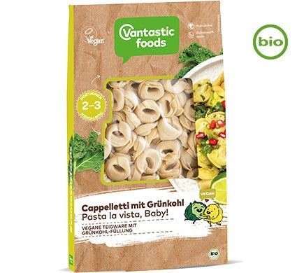 Vantastic Foods Cappelletti Pasta with Smoked Tofu & Kale
