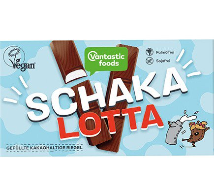 Vantastic Foods Schakalotta Bars - Box of 8 mini chocolate & cream filled mousse bars
