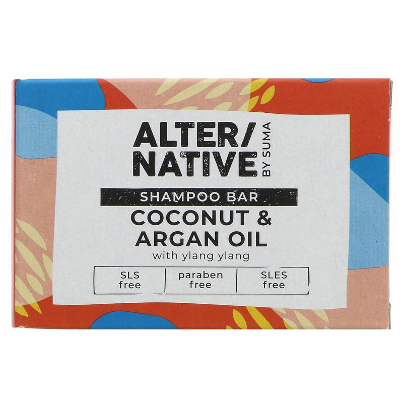 Suma Alter/native Coconut & Argan Oil Shampoo Bar