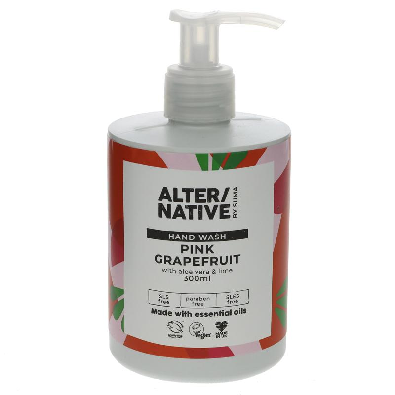 Alter/native Pink Grapefruit, Aloe Vera & Lime Handwash