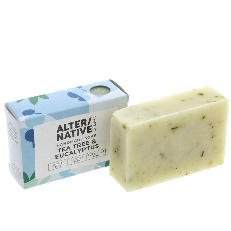 Alter/native By Suma Tea Tree & Eucalyptus Soap