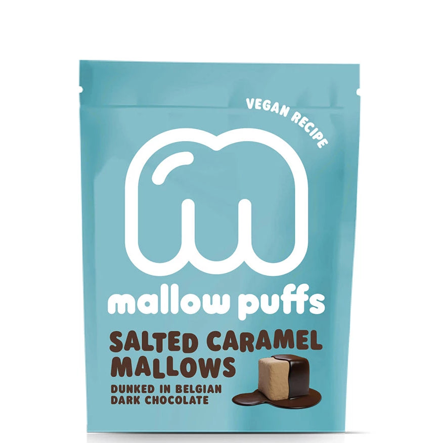 Mallow Puffs Salted Caramel Mallows Dunked Belgian Chocolate