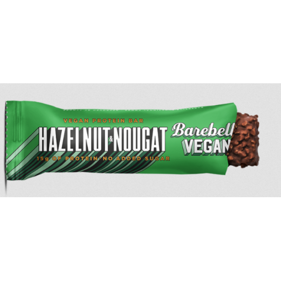 Barebells Hazelnut & Nougat Protein Bar - No added sugar