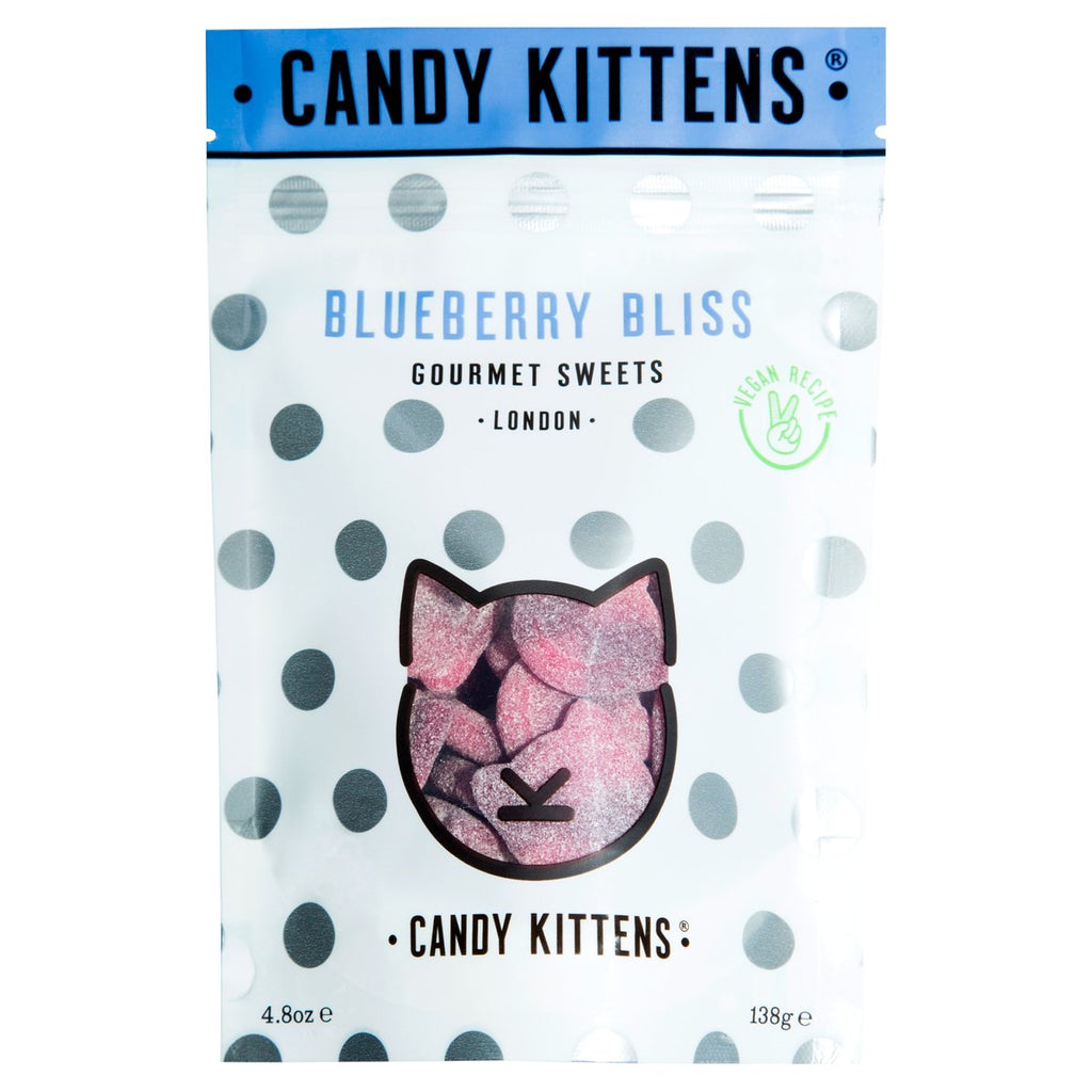 Candy Kittens Blueberry Bliss Gourmet Gummy Sweets