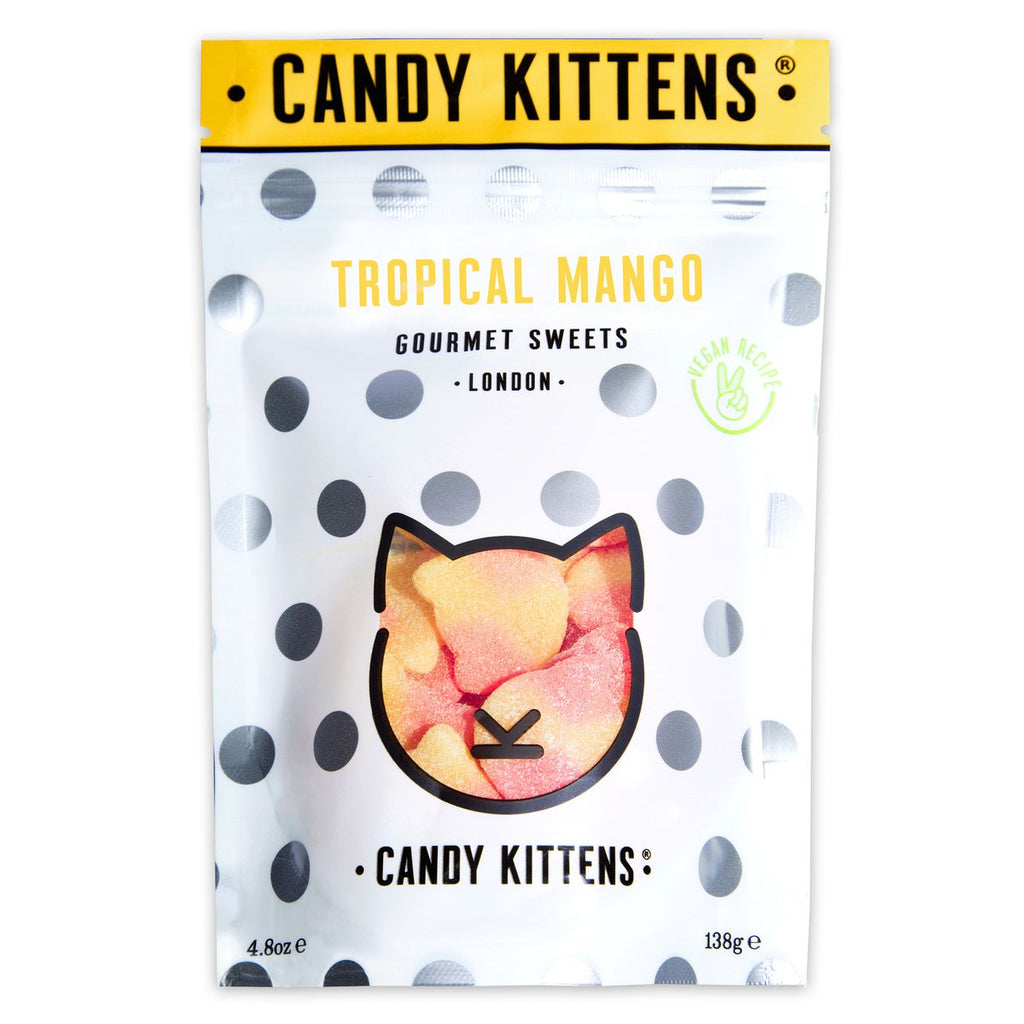 Candy Kittens Tropical Mango Gourmet Gummy Sweets