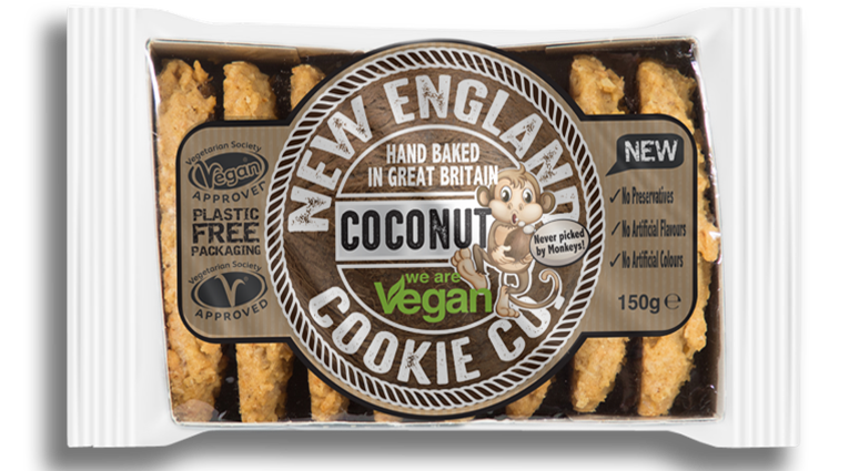 New England Cookie Co. Coconut Fingers
