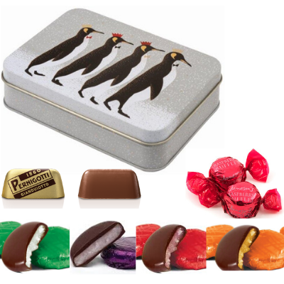 Vegan Store Penguin Chocolate Selection Tin 135g