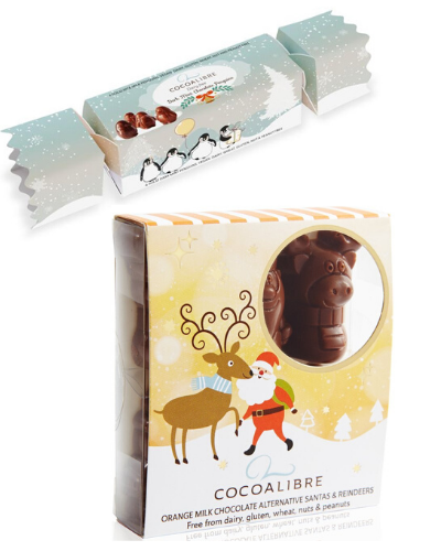 Cocoa Libre Christmas Pack - Pengiun Cracker + Santa and Reindeer Box