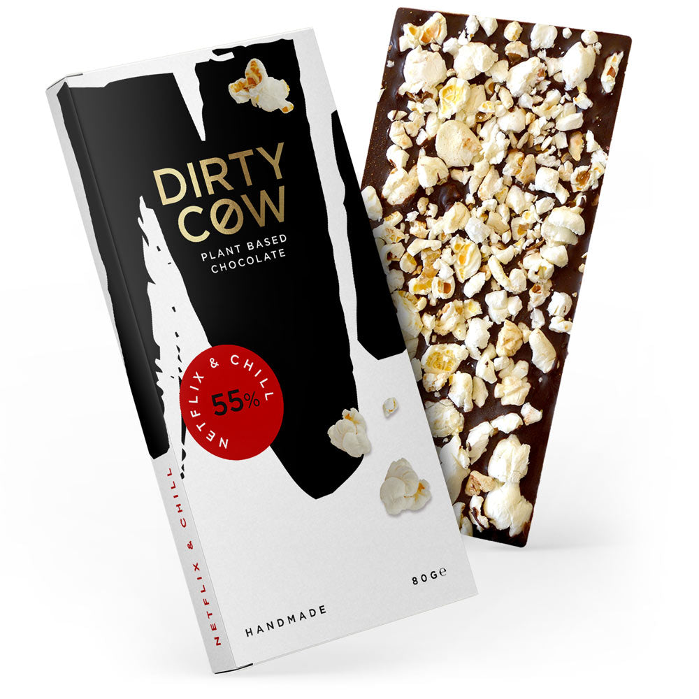 Dirty Cow Chocolate Netflix & Chill