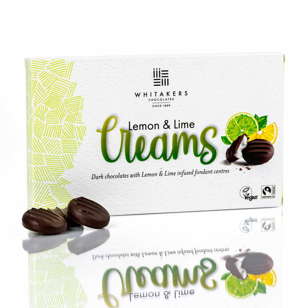 Whitakers Lemon and Lime Chocolate Creams