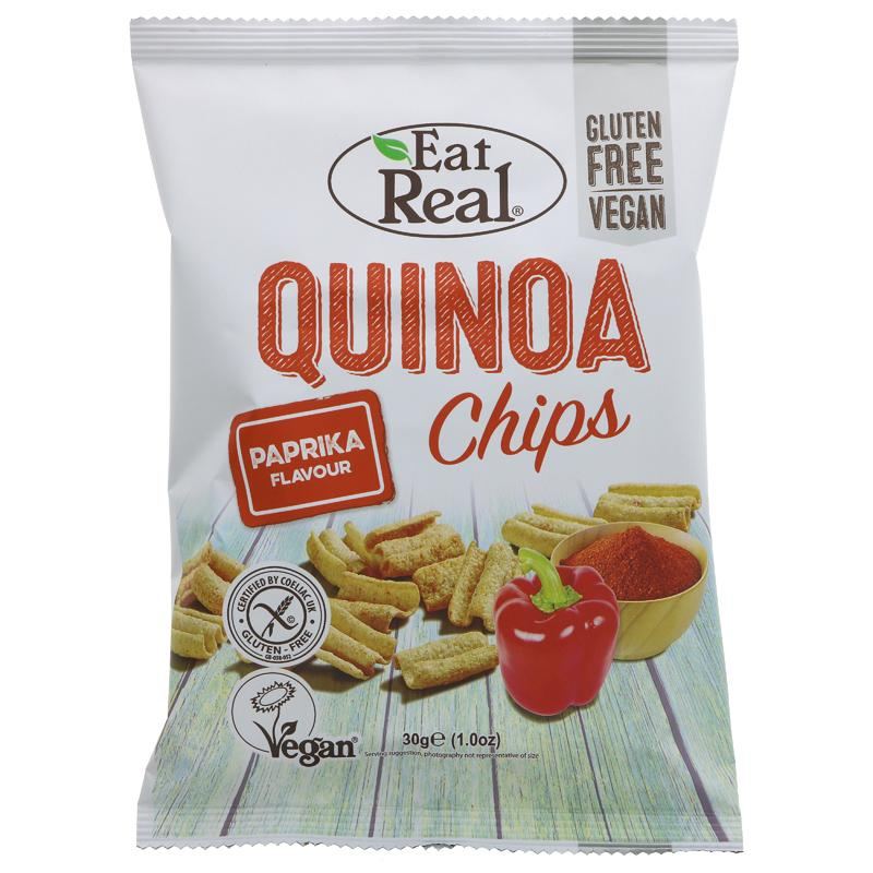 Eat Real Quinoa Paprika Chips