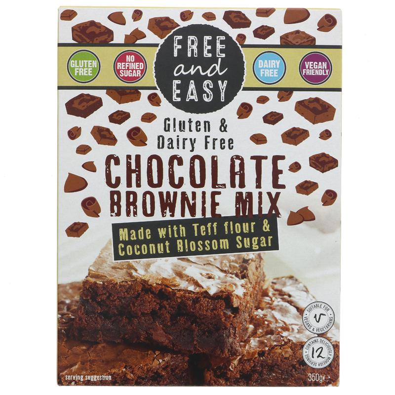 Free & Easy Gluten Free Chocolate Brownie Mix