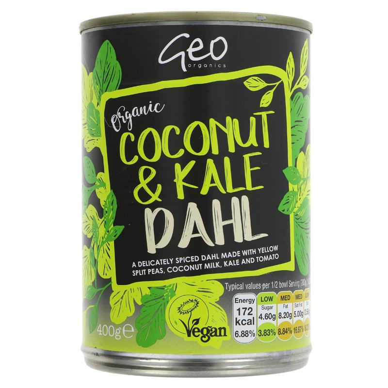 Geo Organics Coconut and Kale Dhal