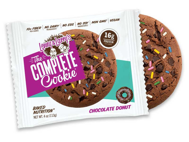Lenny & Larry's Complete Cookie Chocolate Donut