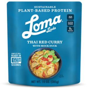 Loma Linda Mock Meat Thai Red Curry Ready Meal