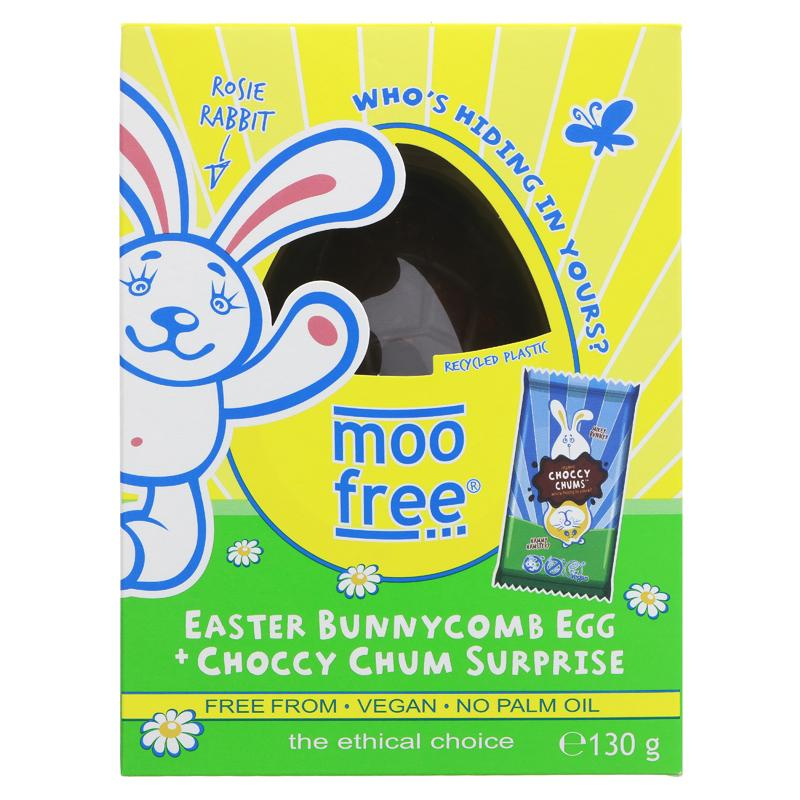 Moo Free Bunnycomb Easter Egg & Choccy Chum Suprise