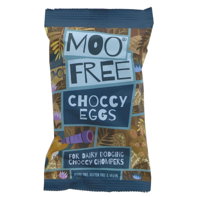 Moo Free Choccy Eggs 80g