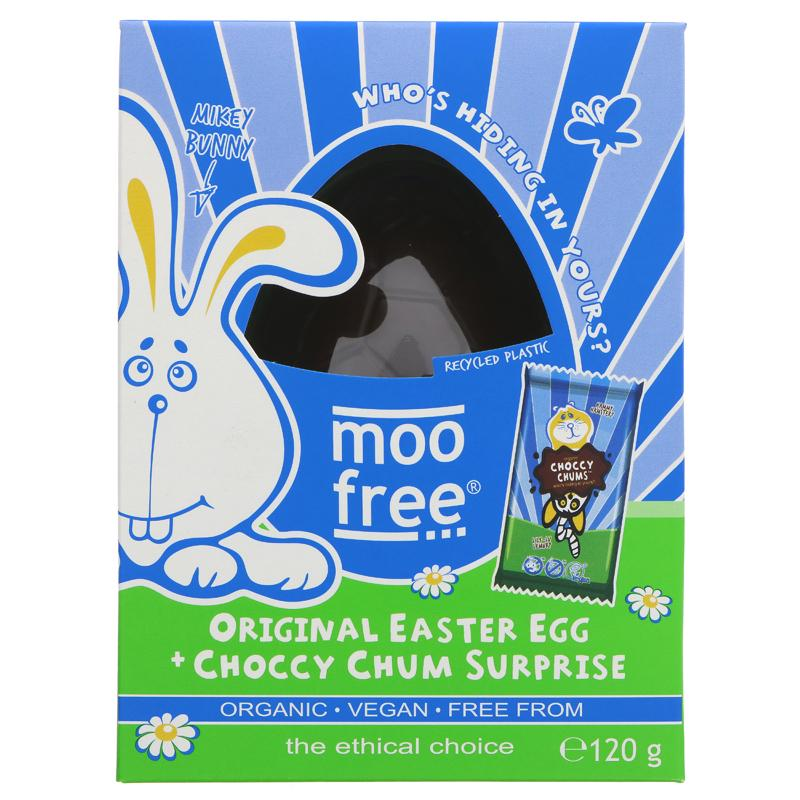 Moo Free Orignal Organic Easter Egg & Choccy Chum Surprise