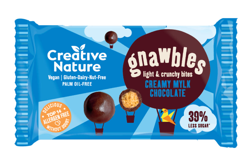 Creative Nature Gnawbles Mylk Chocolate 30g