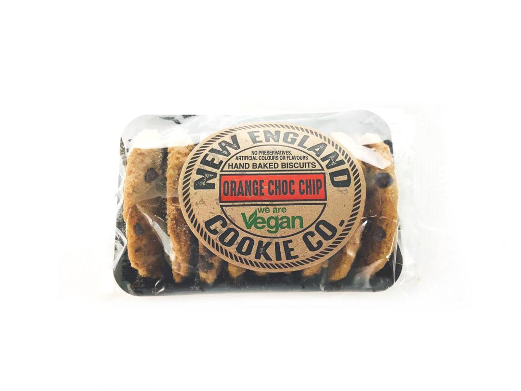 New England Cookie Co. Orange Choc Chip Shortbread