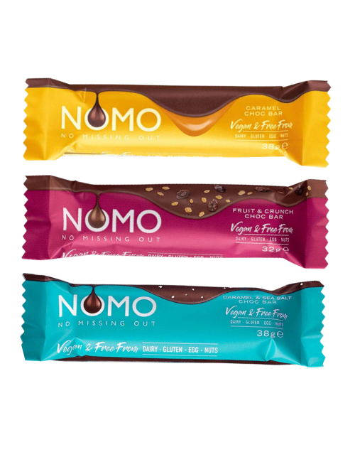 NOMO Triple Selection Pack - 3 bars bumper pack