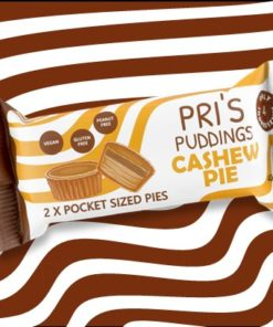 Pri's Puddings Cashew Pie 2 x Pocket Sized Pies