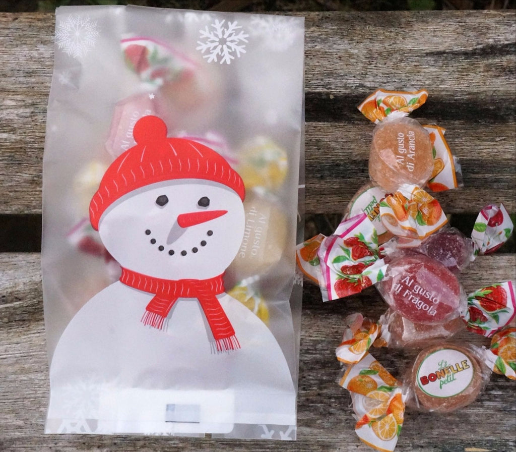 Vegan Store Snowman Pate du Fruit Bag