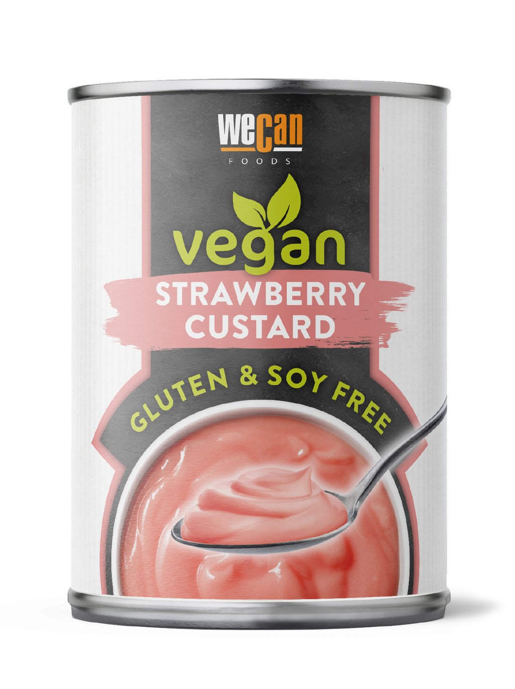 We Can Vegan Stawberry Custard 400g
