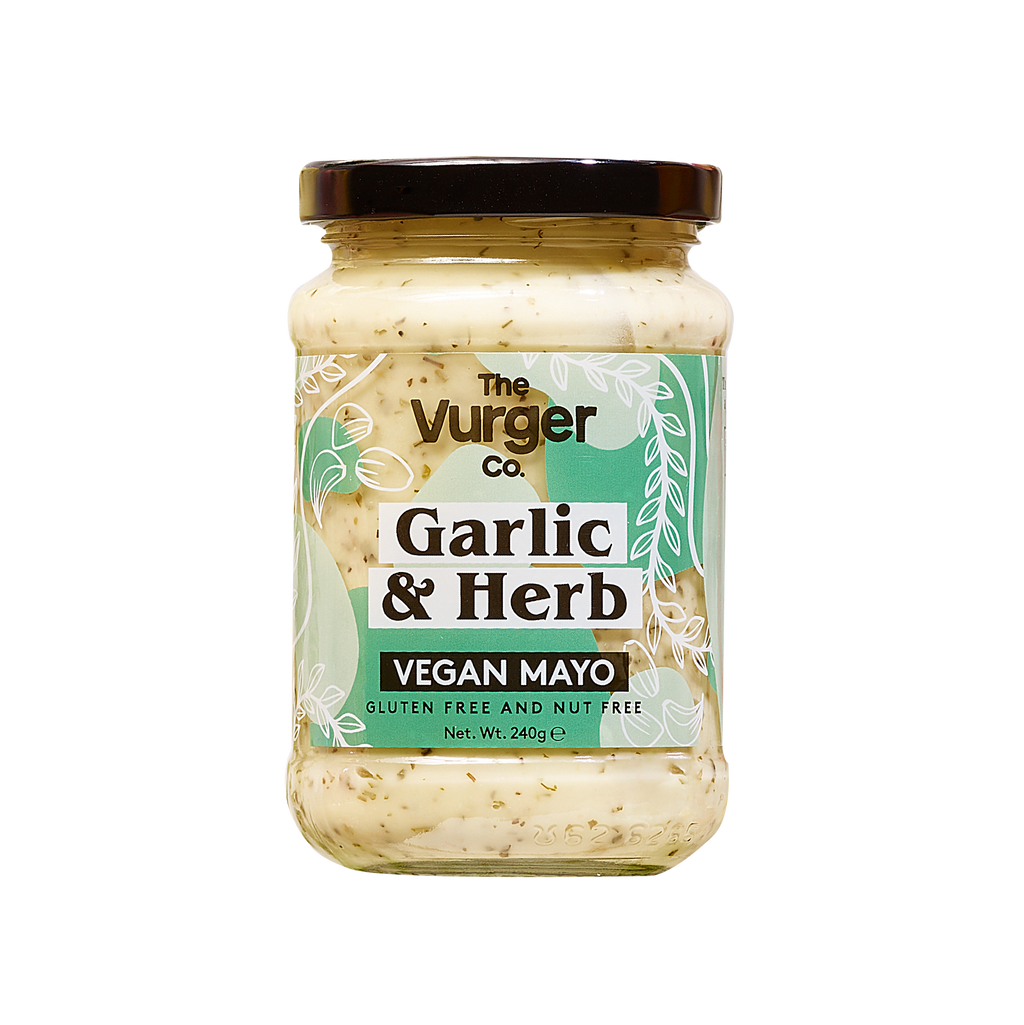 The Vurger Co Garlic And Herb Vegan Mayonnaise