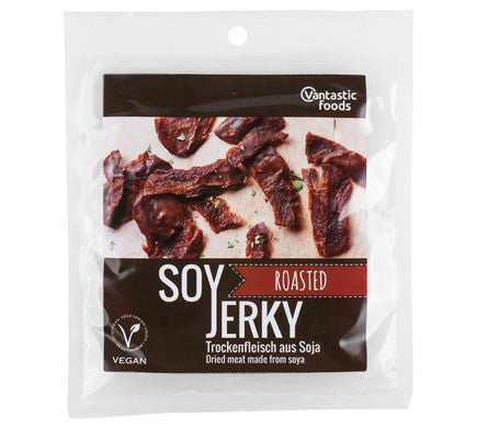 Vantastic Foods Soy Beef Jerky 70g Roasted